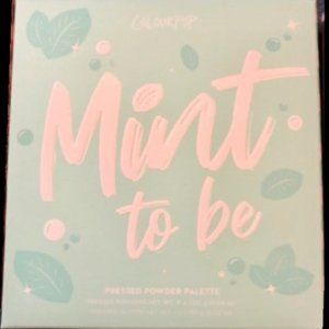 ColourPop Eyeshadow Palette MINT TO BE Greens NEW